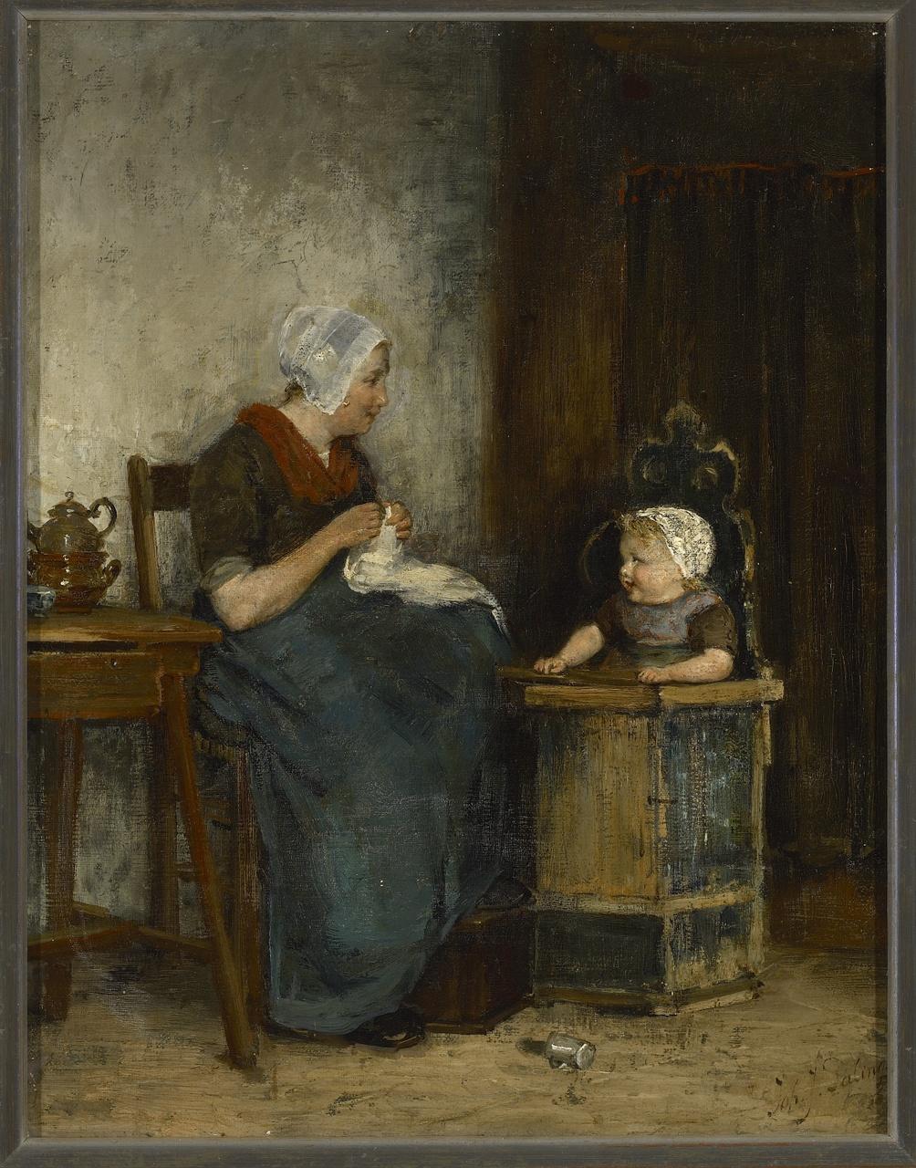 Moeder en kind, Johannes Jacobus Paling