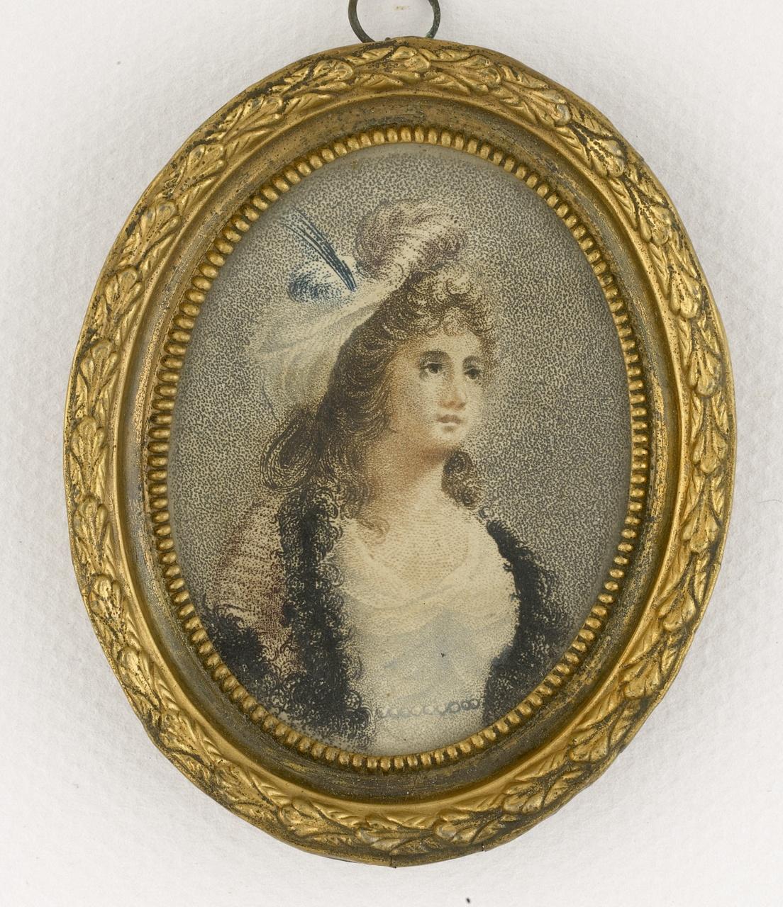 Portret van een onbekende vrouw, Anoniem