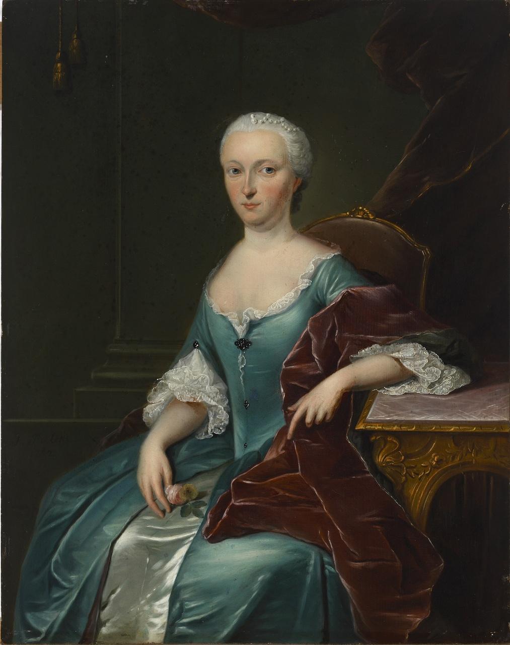 Anna Christina de Bye (1718-1760), Jan Palthe