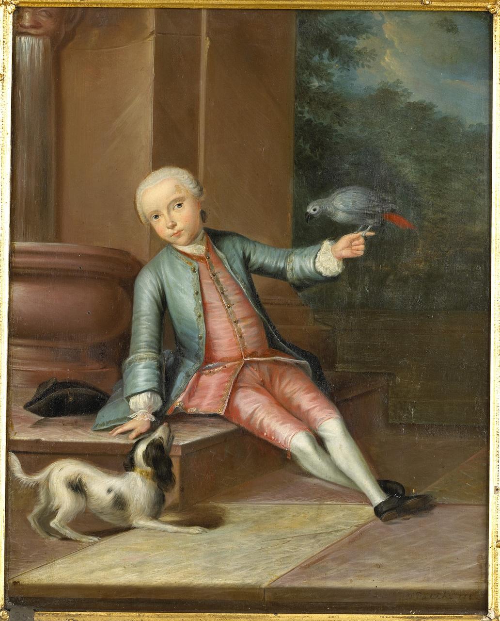 Gerard van Citters als jongen (1742-1805), zoon van Cornelis van Citters, Jan Palthe