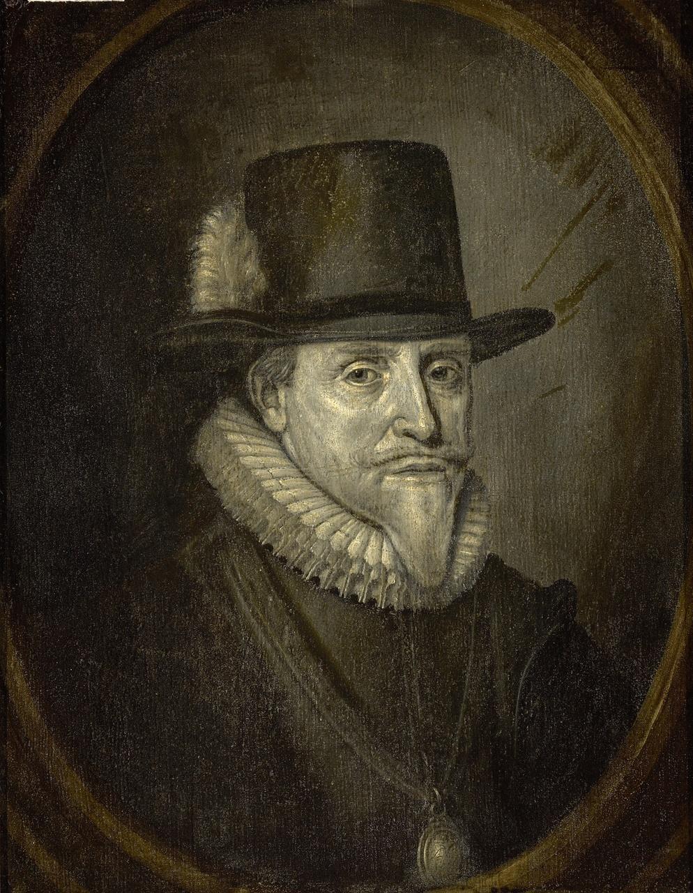 Prins Maurits (1567-1625), stadhouder van Holland, Zeeland, Gelderland, Utrecht en Overijsel, Adriaen van de Venne
