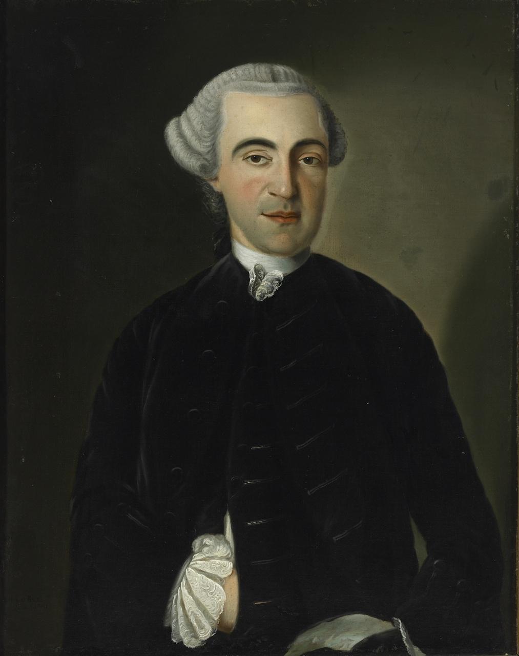 Mr. M.C. Versluys (1723-1811), gehuwd met  Versluys, Magdalena Cornelia, H.A.C.H. Baur