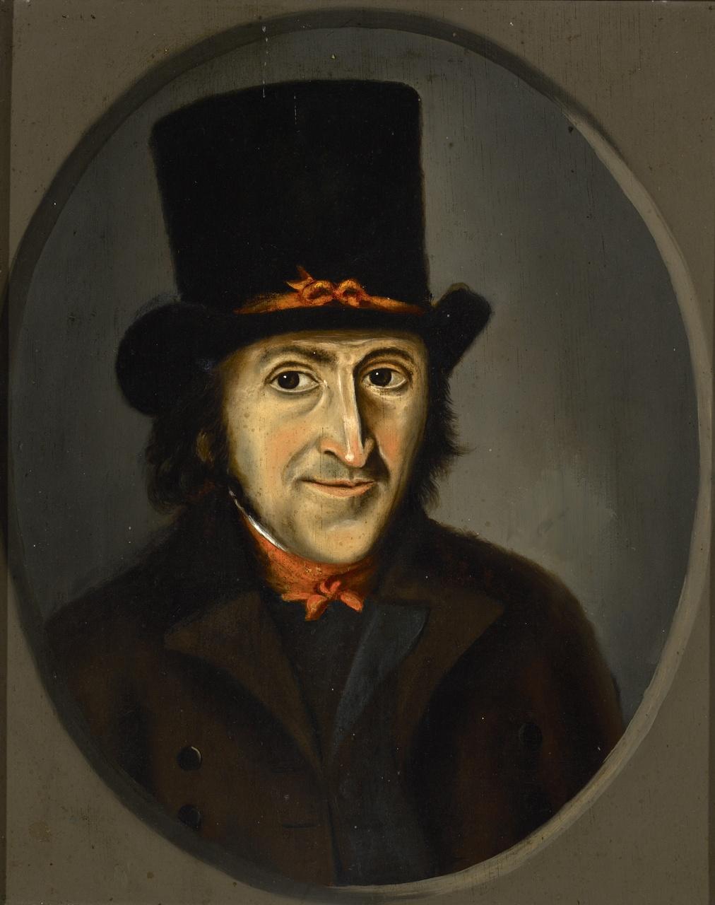 Mansportret (mogelijk Jan Mulder), Anoniem