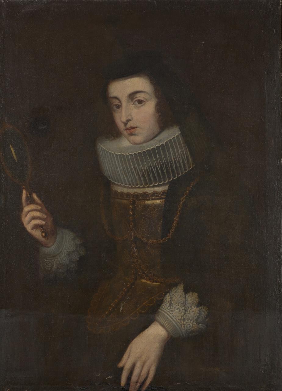 Portret van Anna Albertina van Schagen, Philip van Dijk