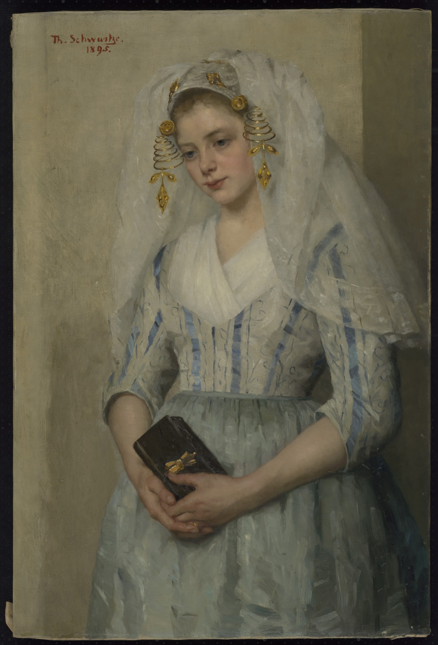 Bruidje uit Oud-Beijerland, Thérèse Schwartze