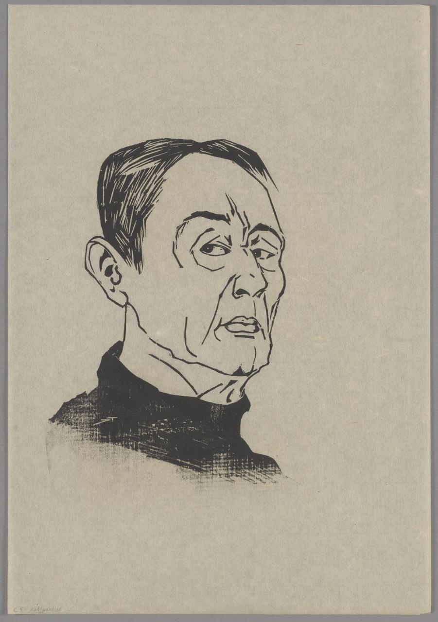 Zelfportret, Johan ten Klooster
