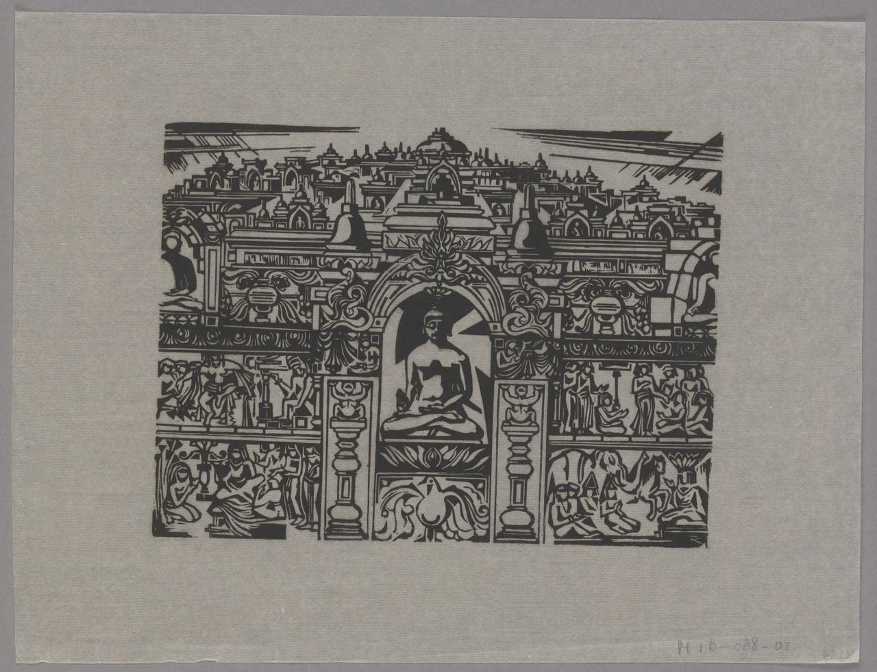 Herinnering Boroboedoer, Johan ten Klooster