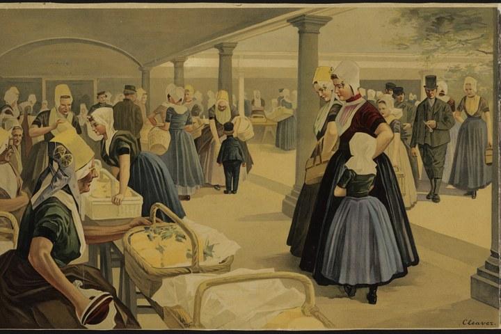 Botermarkt te Middelburg
