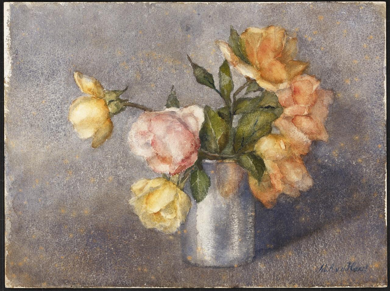 Bloemstilleven, Marie van der Harst