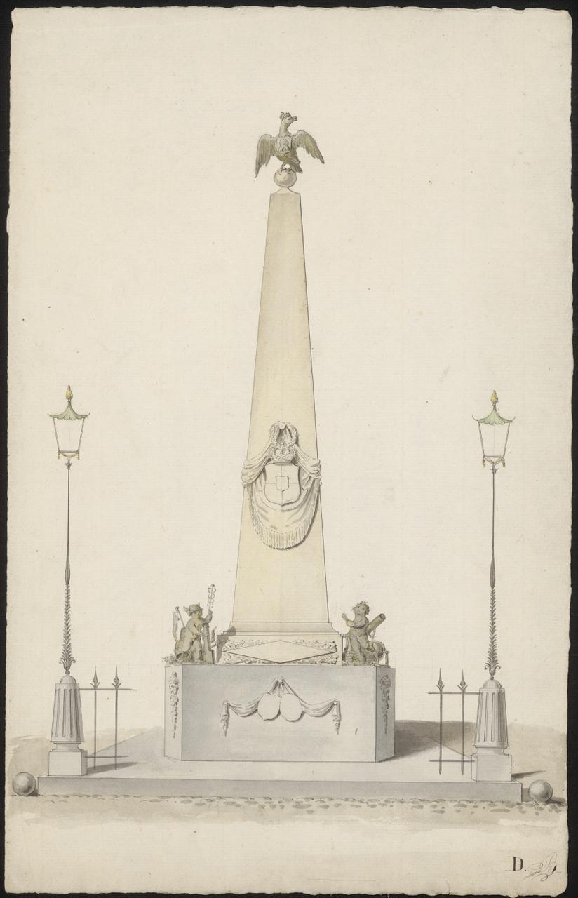 Studie voor een monument