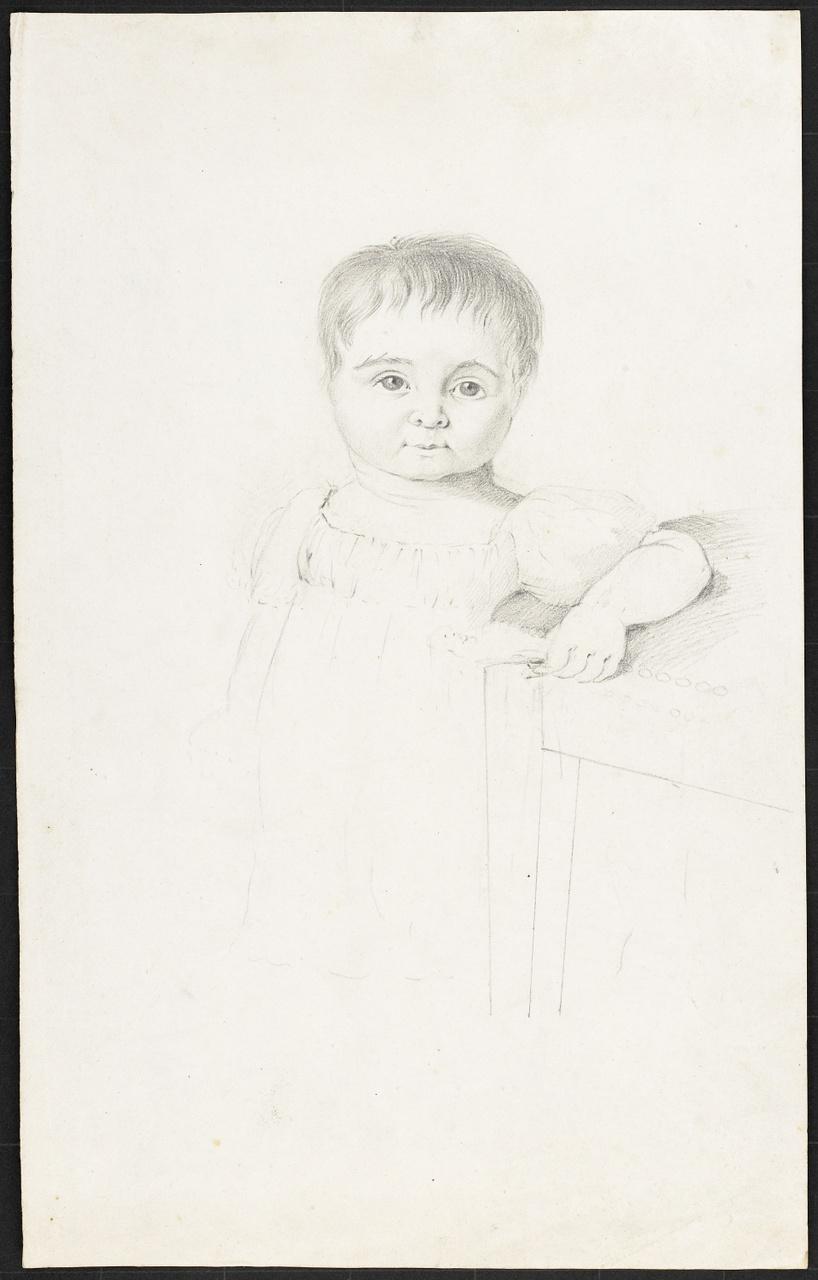 schets met een kind