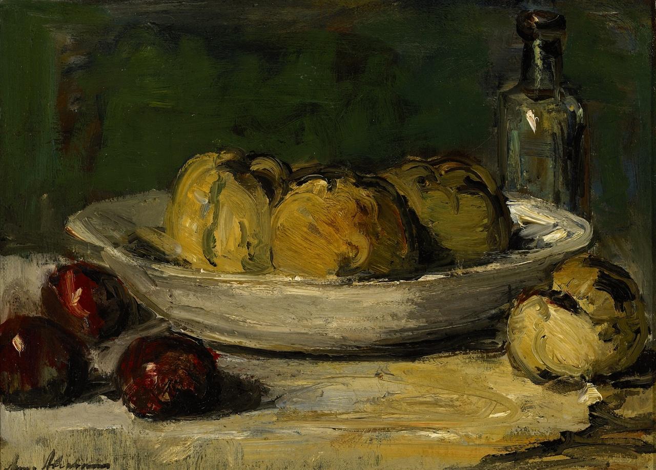 Stilleven met vruchten, Anna A. Abrahams