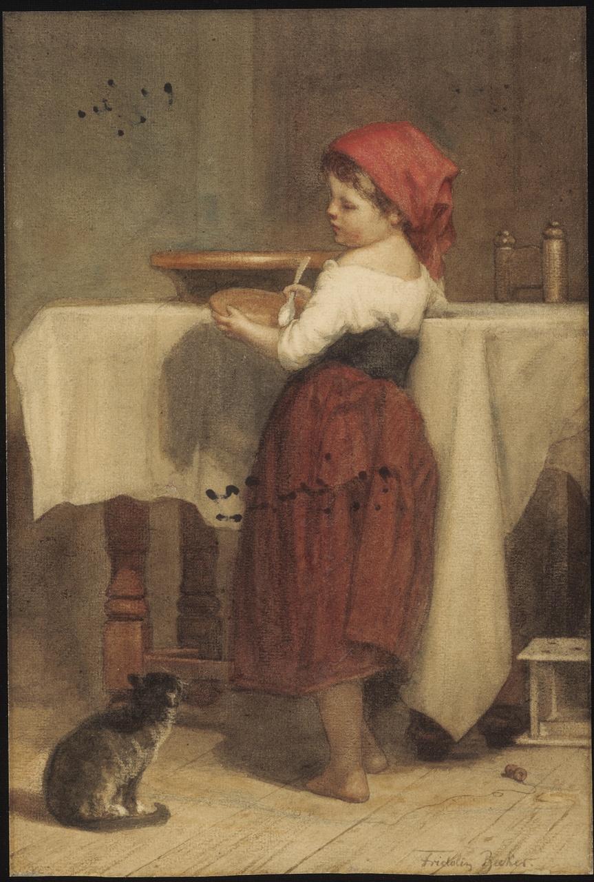Aan den maaltijd, Fridolin Becker