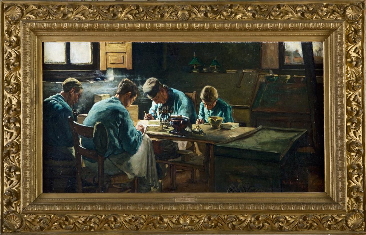 Tegelschilders, Anthon Gerhard Alexander van Rappard