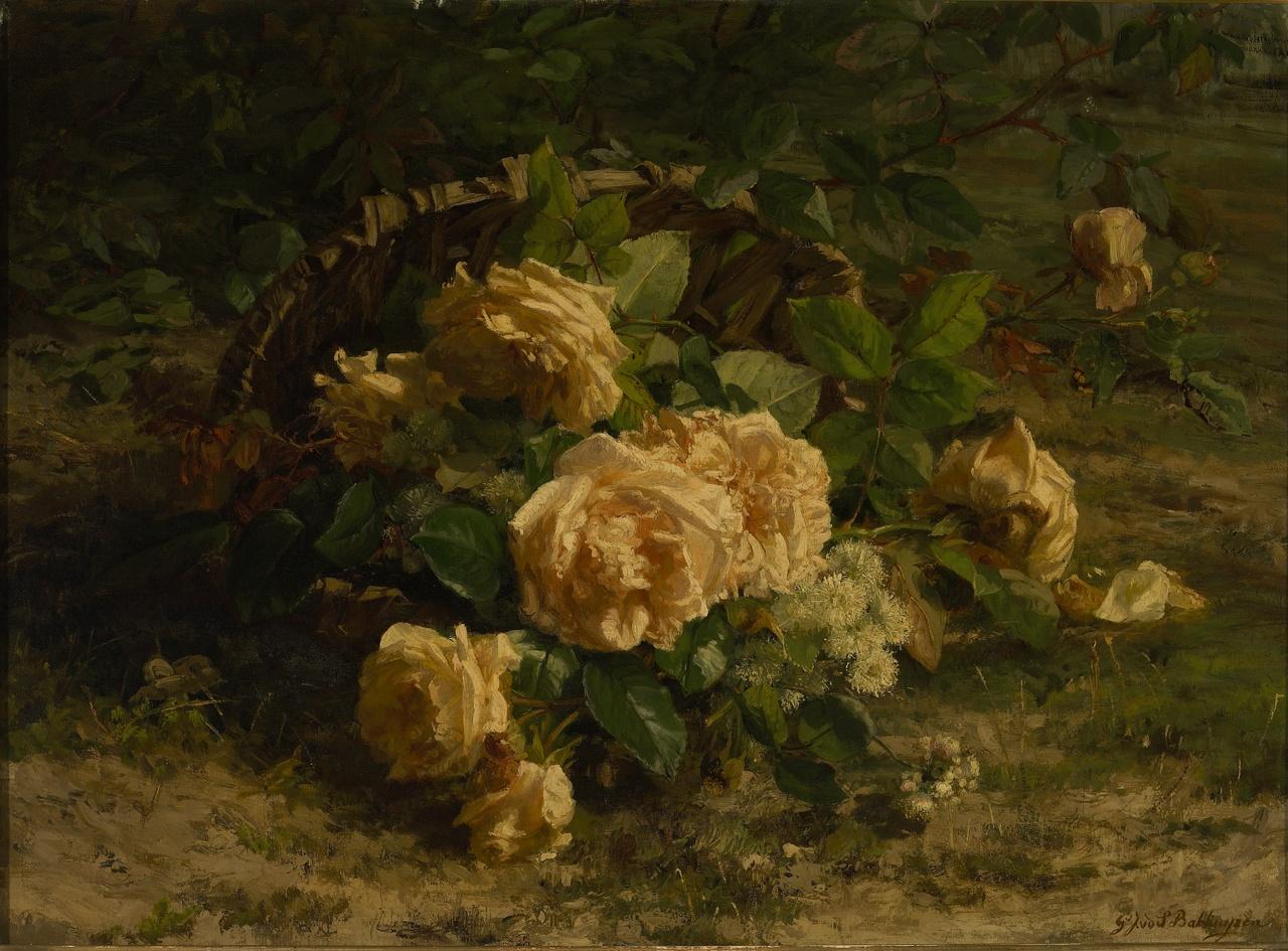 Gele rozen, Gerardina Jacoba van de Sande Bakhuyzen