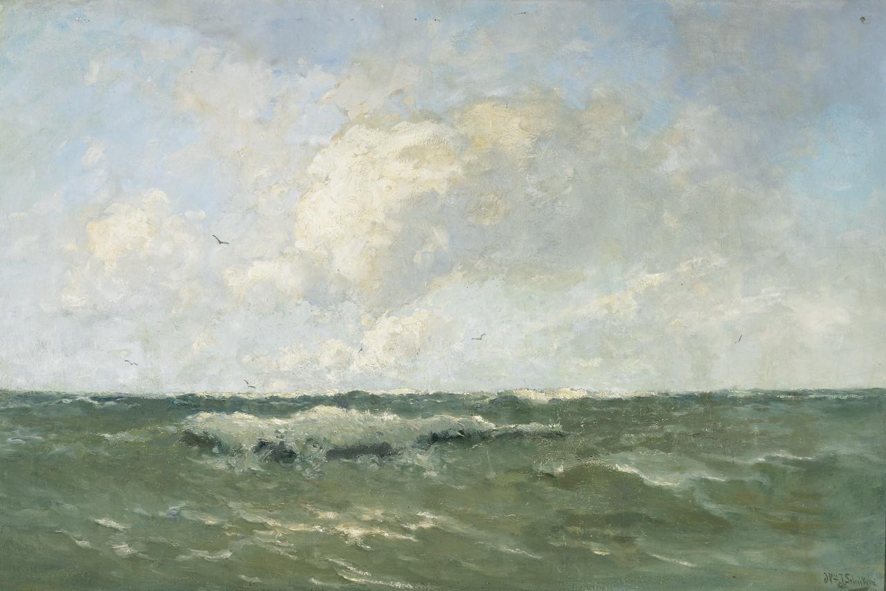 Woelig water, Willem Johannes Schütz