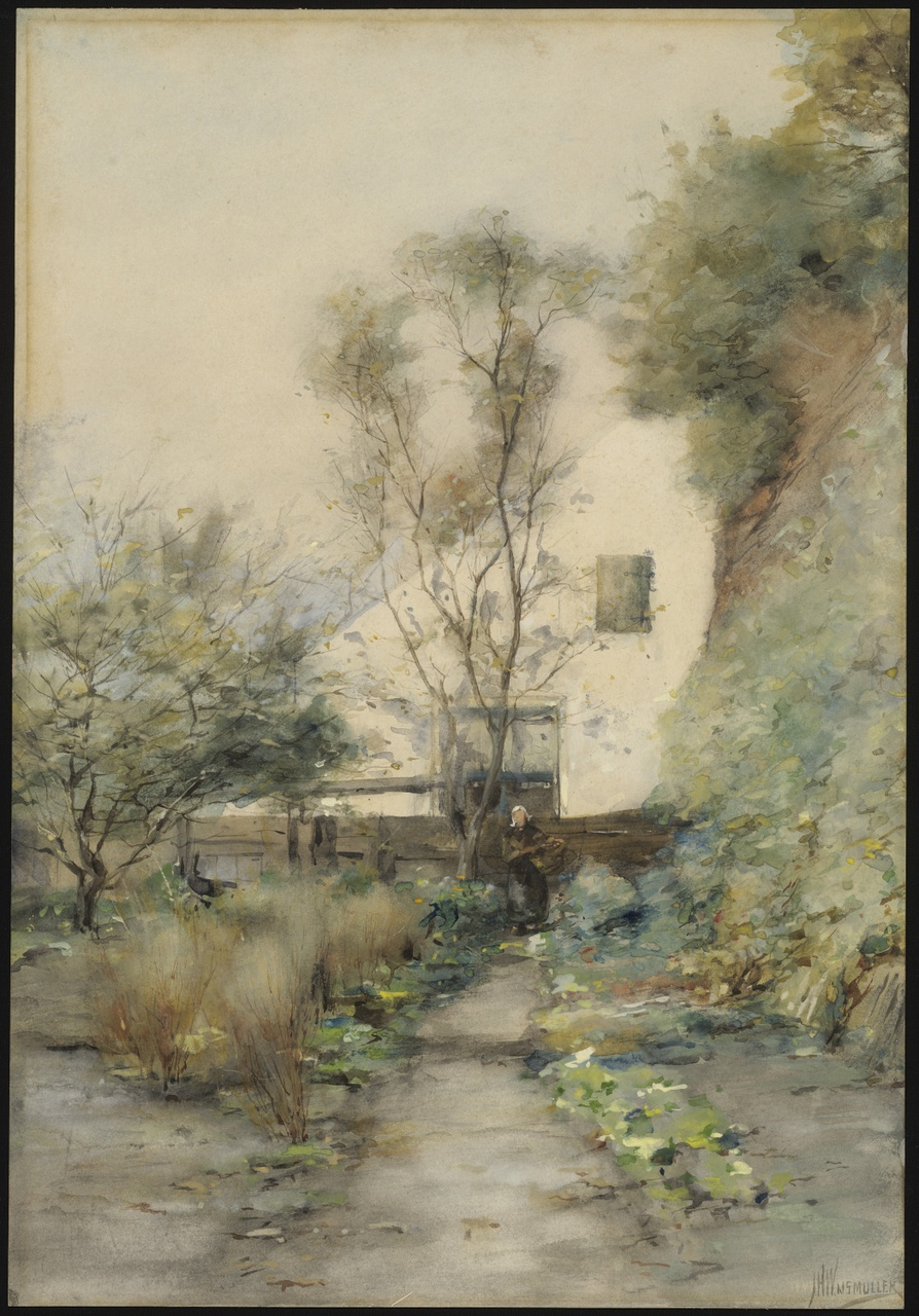In de tuin, Jan Hillebrand Wijsmuller