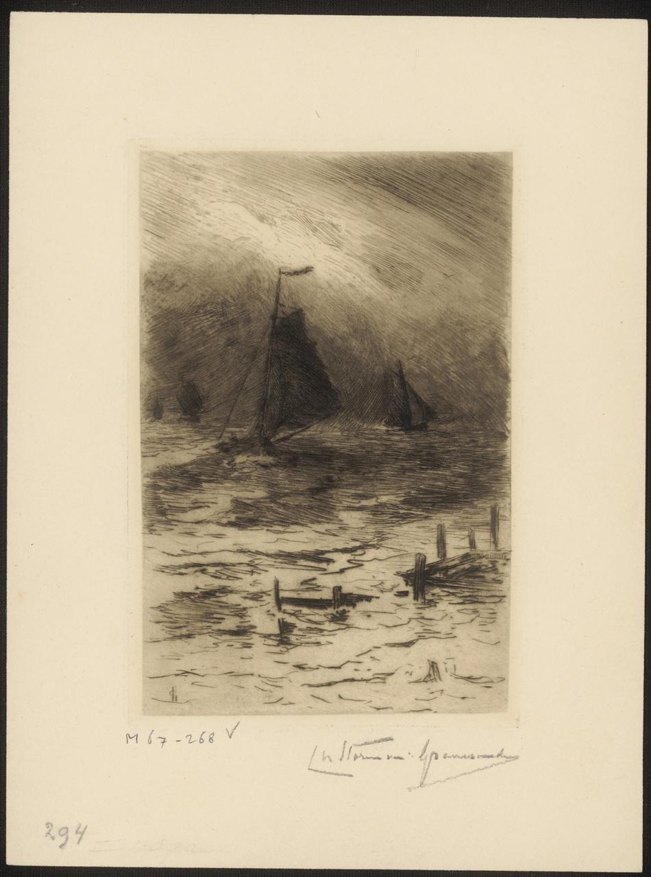 Schepen op de Schelde, Carel Nicolaas Storm van 's-Gravesande