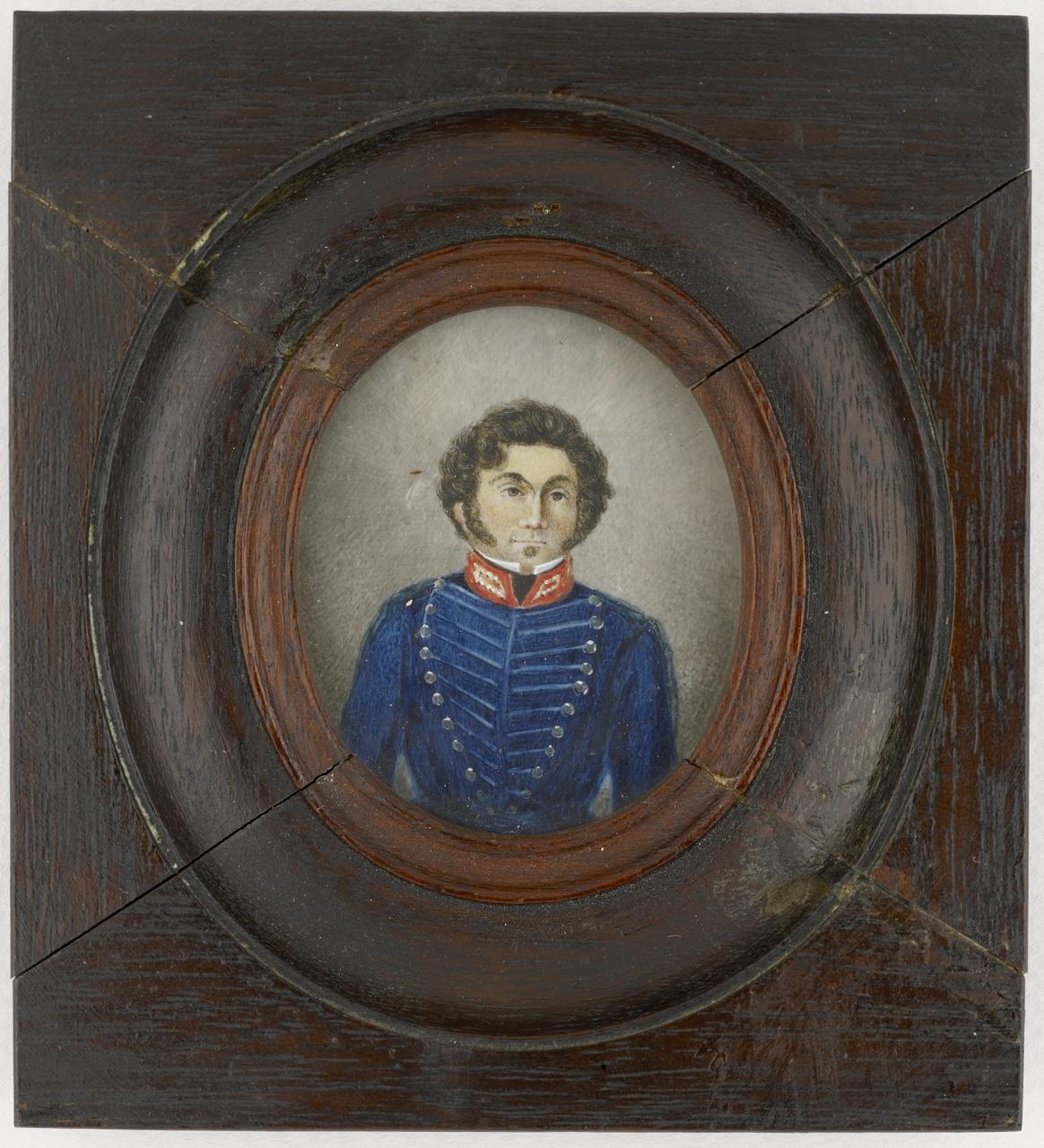 Isaac Bourjé (1805-1845), officier van de administratie, Anoniem