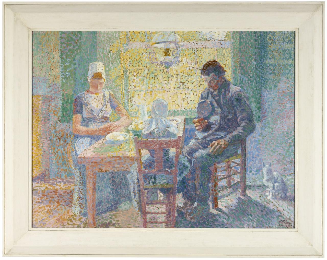 Gebed voor de maaltijd, Jan Toorop