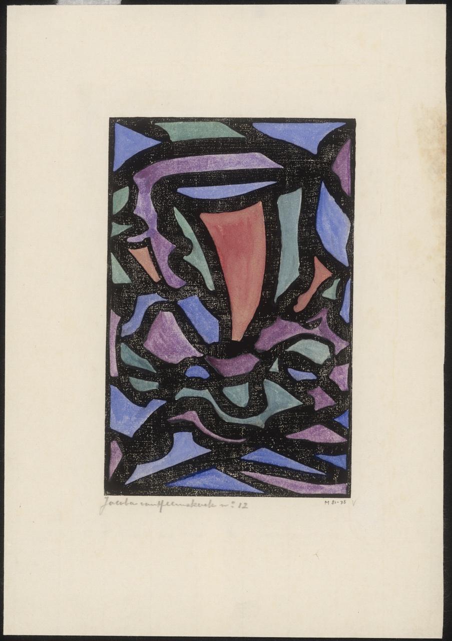 Kompositie nr.12, Jacoba van Heemskerck