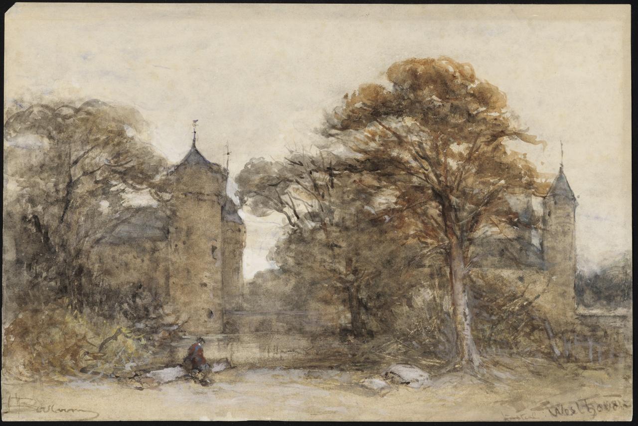 Kasteel Westhove, Johannes Bosboom