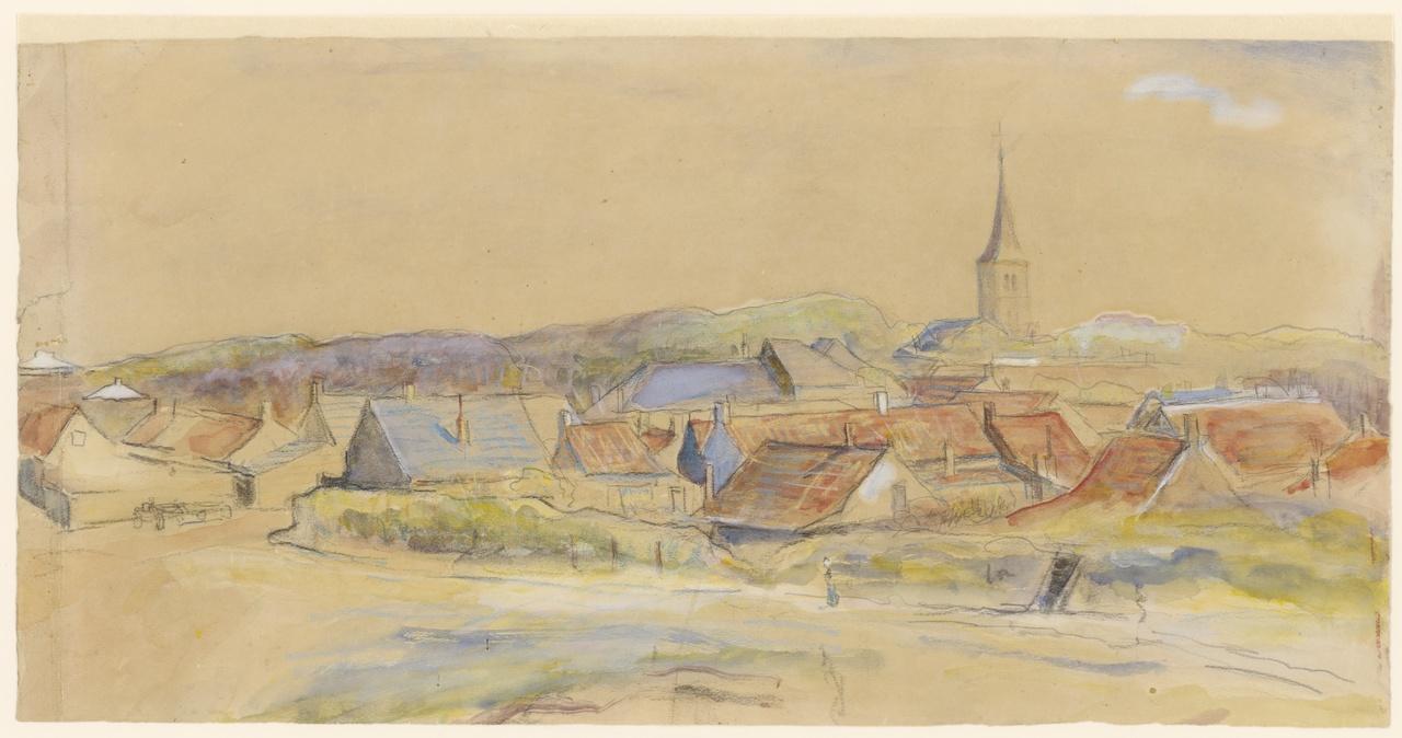 Gezicht op Domburg, Maurice Góth