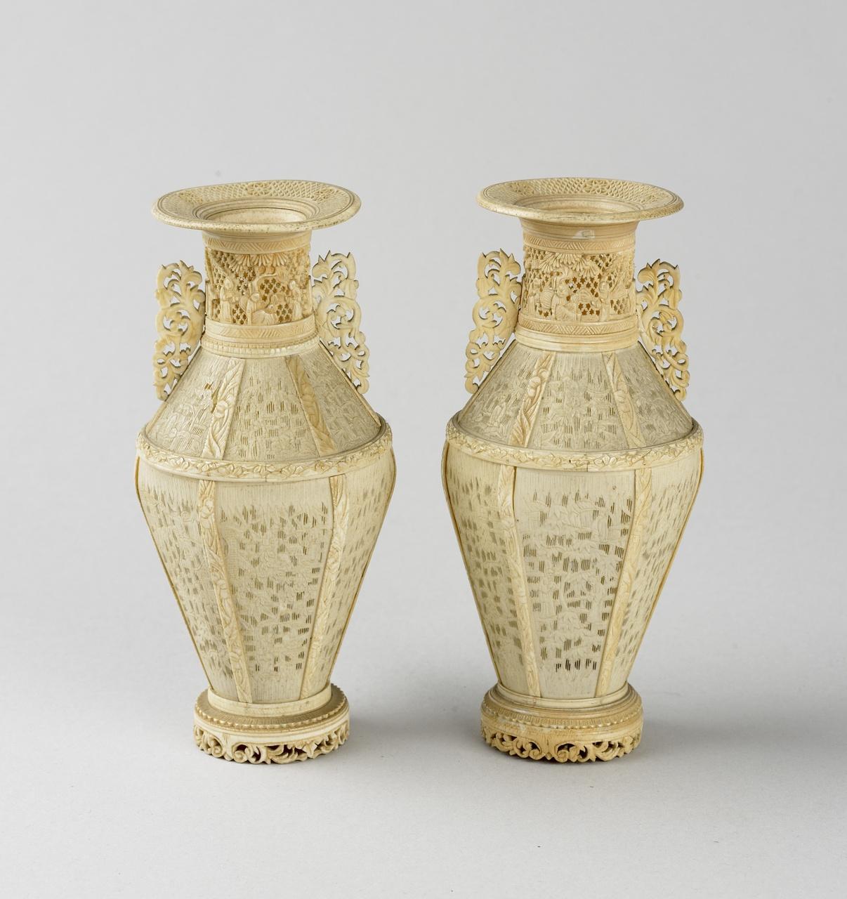 Vaas (ivoor) afkomstig uit China