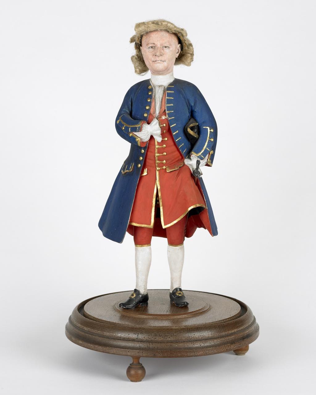 Portretbeeldje van VOC-schipper Jan Meertens