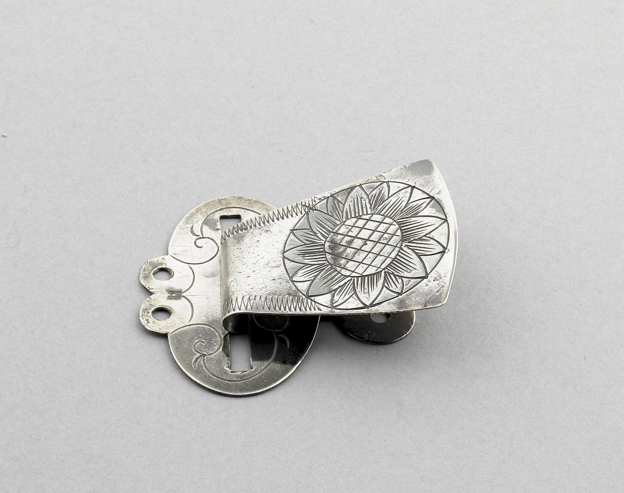 Paar zilveren faaljehaken, Cornelis Wendels