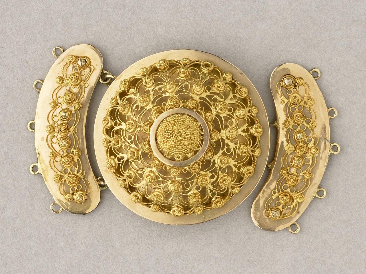 Kraalslot bestaande uit drie delen, Walcheren