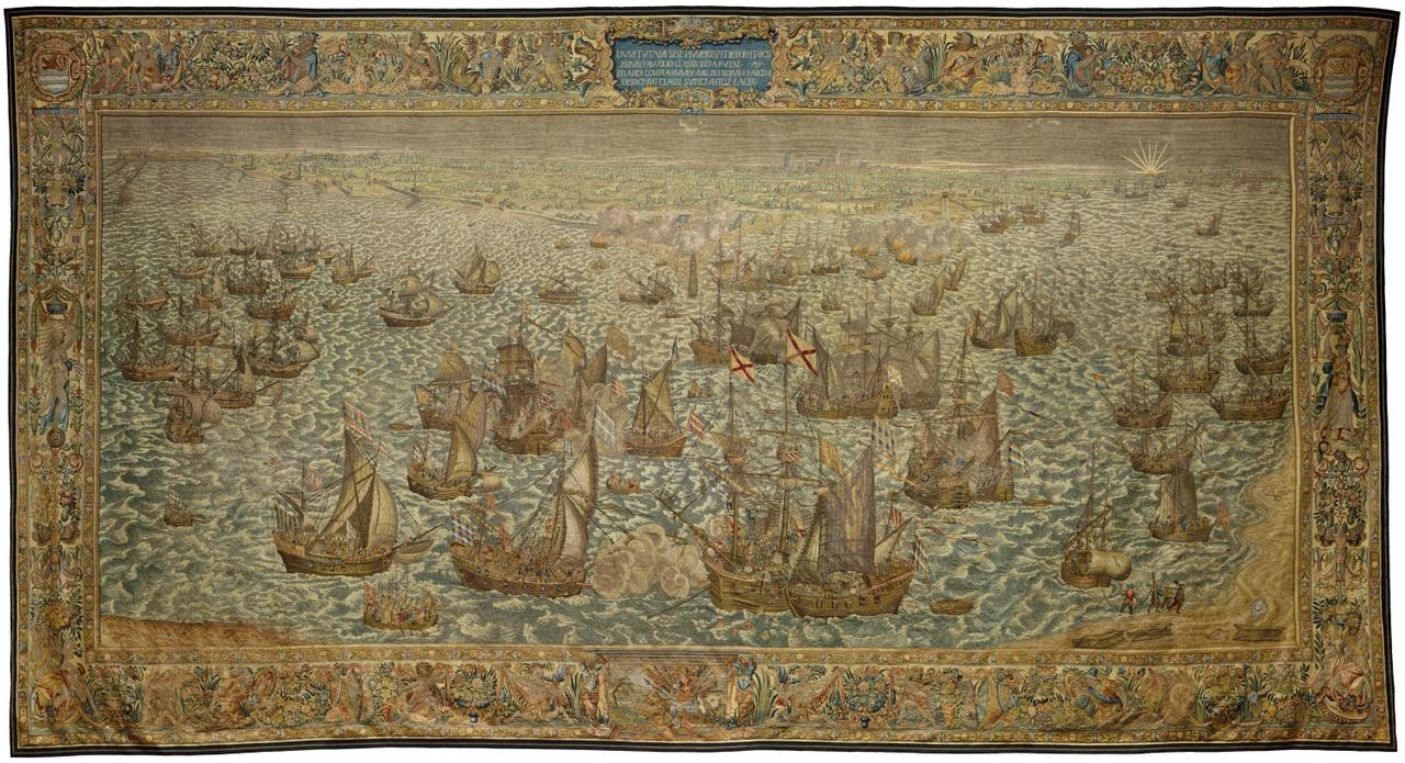 Wandtapijt Slag bij Rammekens, juni 1572