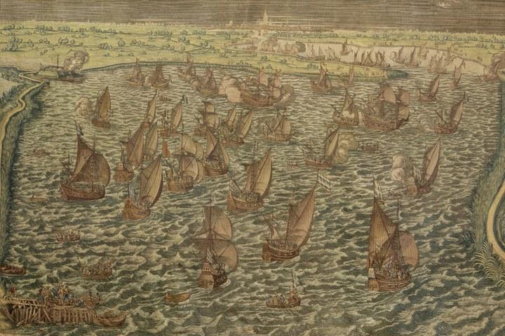 Wandtapijt Slag bij Lillo 23 februari - 16 maart 1573