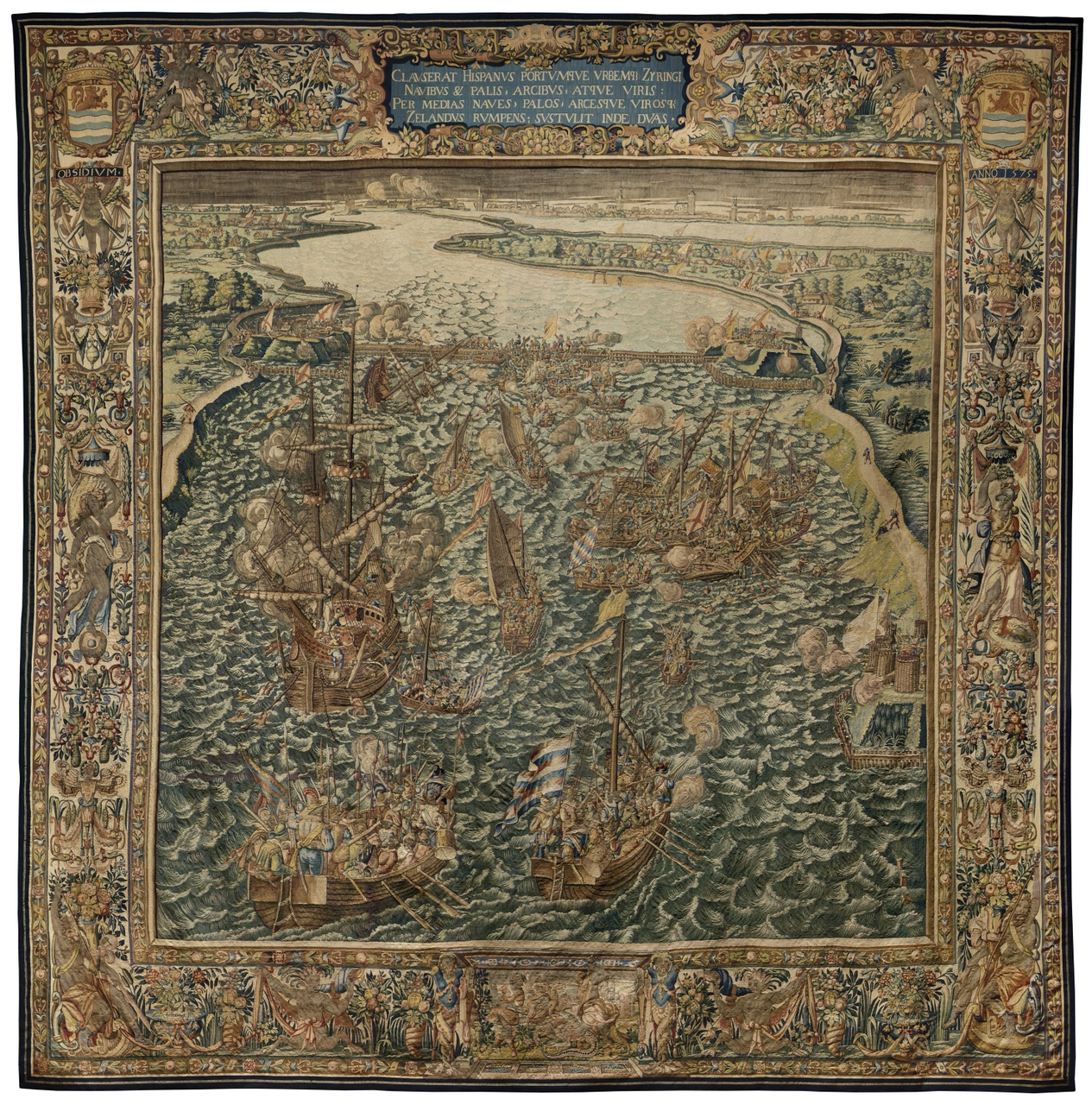 Wandtapijt Beleg van Zierikzee 11-13 april 1576
