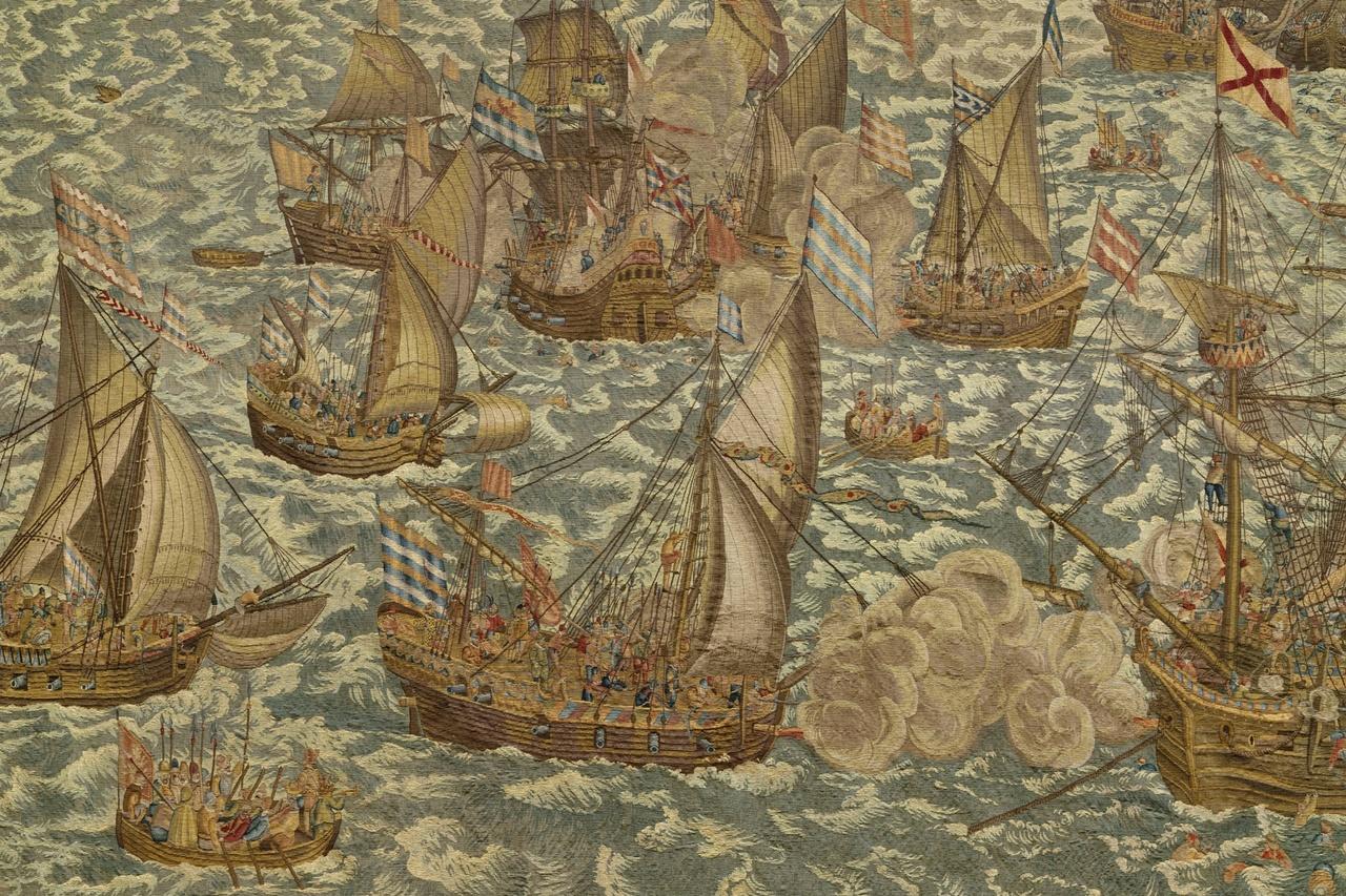 Wandtapijt Slag bij Rammekens 11-14 juni 1572