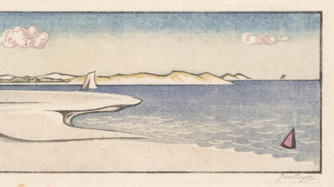 Jan Heyse - Het Veerse gat Z.J. - collectie Bert Bakker - Zeeuws Museum